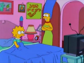 Lisa a la meilleure note the simpsons park toute l - Reveil simpson ...