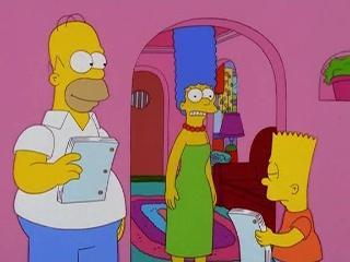 Les Simpson Austere Homer