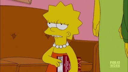 Simpsons daughter