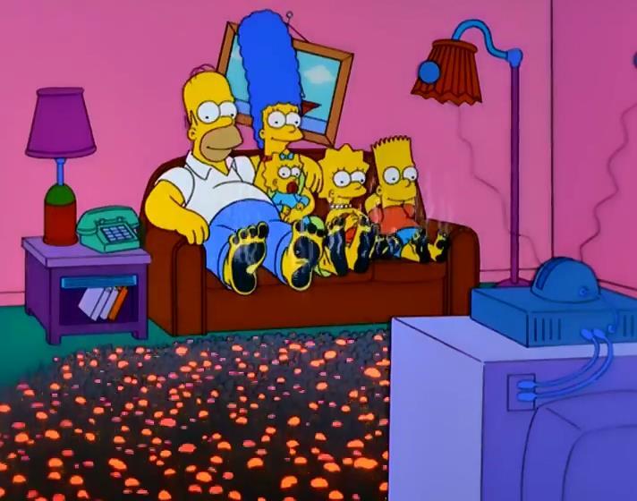 Folie hom rique the simpsons park toute l 39 actualit - Bart simpson nu ...