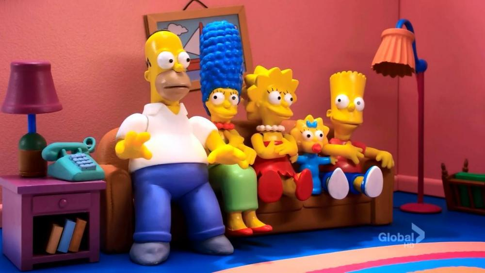 Gags Du Canap 195 169 De La Saison 24 The Simpsons Park