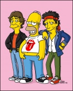 Homer like a Rolling Stone (image 1)