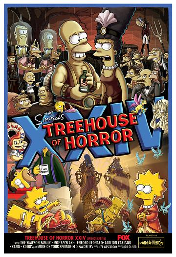 Simpson Horror Show Xxiv The Simpsons Park Toute L