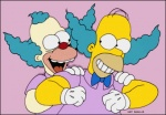 Homer le clown (image 1)