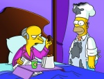 Homer fait son Smithers (image 1)