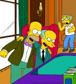 Homer fait son Smithers (image 2)
