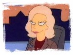 Joyce Brothers on the Simpsons
